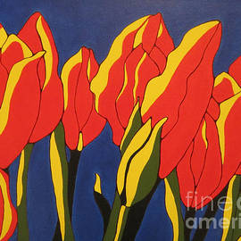 Sharon Patterson - Red Tulips