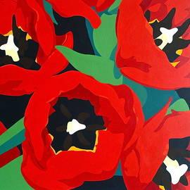Susan Porter - Red Tulips