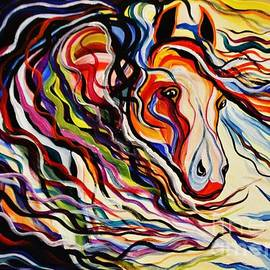 Janice Rae Pariza - Red Wind Wild Horse