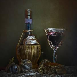 Hugo Bussen - Red wine bread and garlic