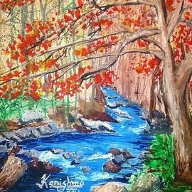 KarishmaticArt -  Karishma Desai - Red woods