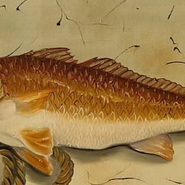 Phyllis Beiser - Redfish In The Boat