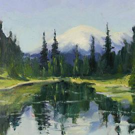 Maria Hunt - Reflecting Mt. Rainier