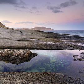 Guido Montanes Castillo - Reflections at Plomo beach