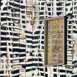 Ted Guhl - Reflections of a Building on a Building