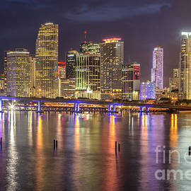 Rene Triay Photography - Reflections of a Miami Skyline