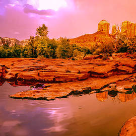 Bob and Nadine Johnston - Reflections of Cathedral Rock