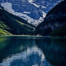 Jordan Blackstone - Reflections of Lake Louise - Banff National Park