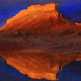 R christopher Vest - Reflections Of Miner Butte