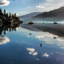 Lynn Bolt - Reflections on Loch Goil Scotland