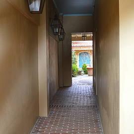 Linda Covino - Reflective hallway