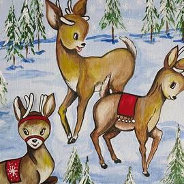 Leslie Manley - Reindeer