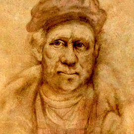 Troy Brown - Rembrandt from his self portrait