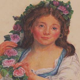 Pamela Humbargar - Rendition of Young Girl from Elisabeth Vigee LeBrun