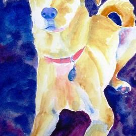 Carlin Blahnik - Rescue Lab - dog painting