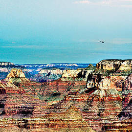 Bob and Nadine Johnston - Rescue Lipan Point  Grand Canyon