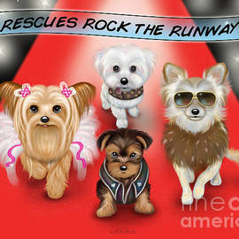 Rescues Rock the Runway