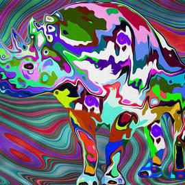 Jack Zulli - Rhino - Abstract 2
