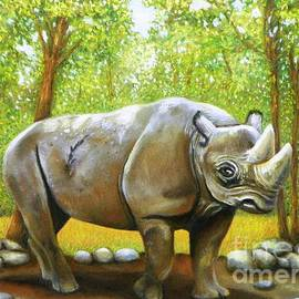 Wendy Koehrsen - Rhino Walking