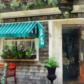 Susan Savad - Rhode Island - Antique Shop Newport RI