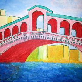 Irving Starr - Rialto Bridge Abstract