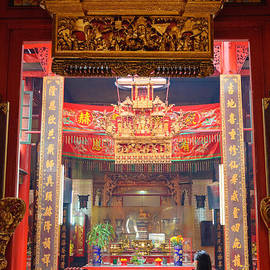 David Hill - Rich decoration in Chinese Temple - Sze Yah temple - Kuala Lumpur - Malaysia