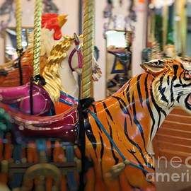 Ella Kaye Dickey - Ride Of A Lifetime - Carousel Tiger by Ella