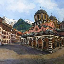 Henrieta Maneva - Rila Monastery  Bulgaria