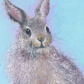 Jan Matson - Easter bunny painting - Ringo