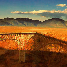 Douglas MooreZart - Rio Grande Gorge Bridge Heading to Taos