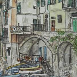Malinda  Prudhomme - Riomaggoire Cinque Terre Italy
