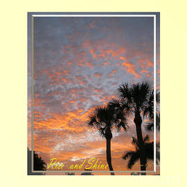 Oksana Semenchenko - Rise and Shine. Sunrise in  Florida. Fort Myers. USA