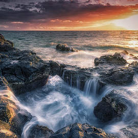 Hawaii  Fine Art Photography - Rising Tide II