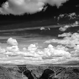 Silvio Ligutti - River and Clouds Rio Grande Gorge - Taos New Mexico