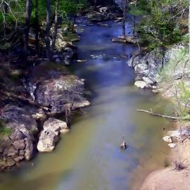 Debra Forand - River At Noccalula Falls