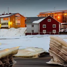 Jukka Heinovirta - River Ice Melting Away 1