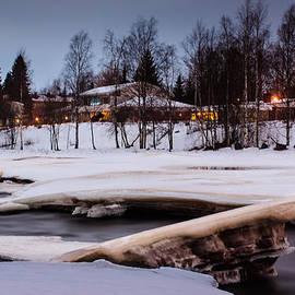 Jukka Heinovirta - River Ice Melting Away 3