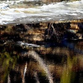 Karen  Majkrzak - River Reflections and Snow
