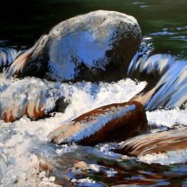 Anne Gardner - River stones