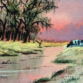 Bill Holkham - River Sunrise