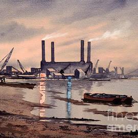 Bill Holkham - River Thames At Battersea