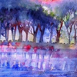 Trudi Doyle - River Trees