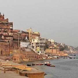 Kim Bemis - River View  - Varanasi India