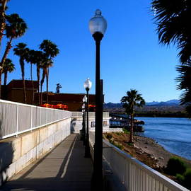 Kay Novy - River Walk In Laughlin Nevada