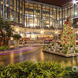 Silvio Ligutti - Rivercenter Christmas Tree at the Riverwalk - San Antonio Texas