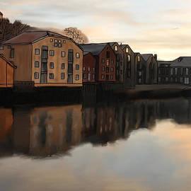Michael Hodgson - Riverwalk Reflection