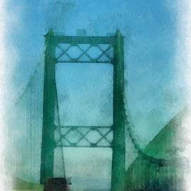 Road Bridge 03 San Pedro CA Photo Art 01