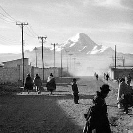 Massimo Sormonta - road to Cochabamba