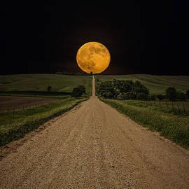 Aaron J Groen - Road to Nowhere - Supermoon
