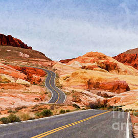 Les Palenik - Road To The Top - Painterly style - Version 3